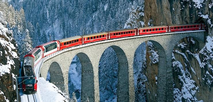 Ekspres Bernina – bajeczny alpejski pociąg